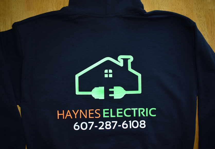 haynes electric sweatshirts