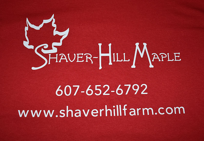 shaver-hill farm t-shirt
