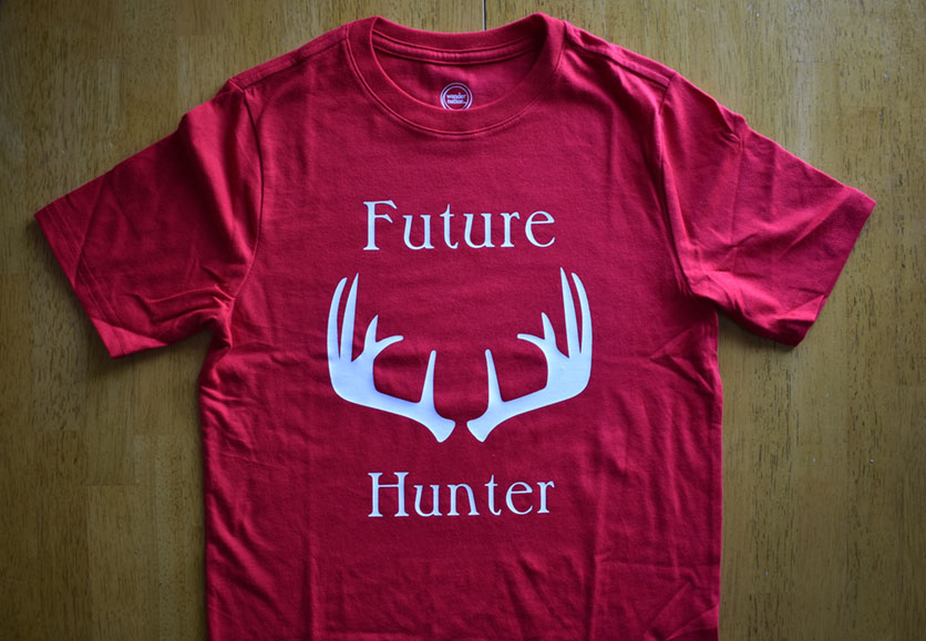 future hunter t-shirt
