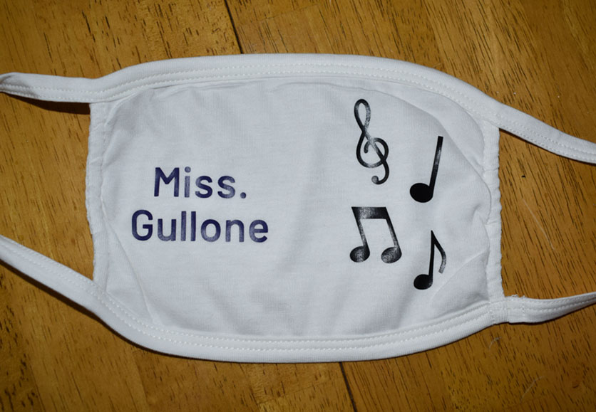 Miss. Gullone - Music Teacher Mask