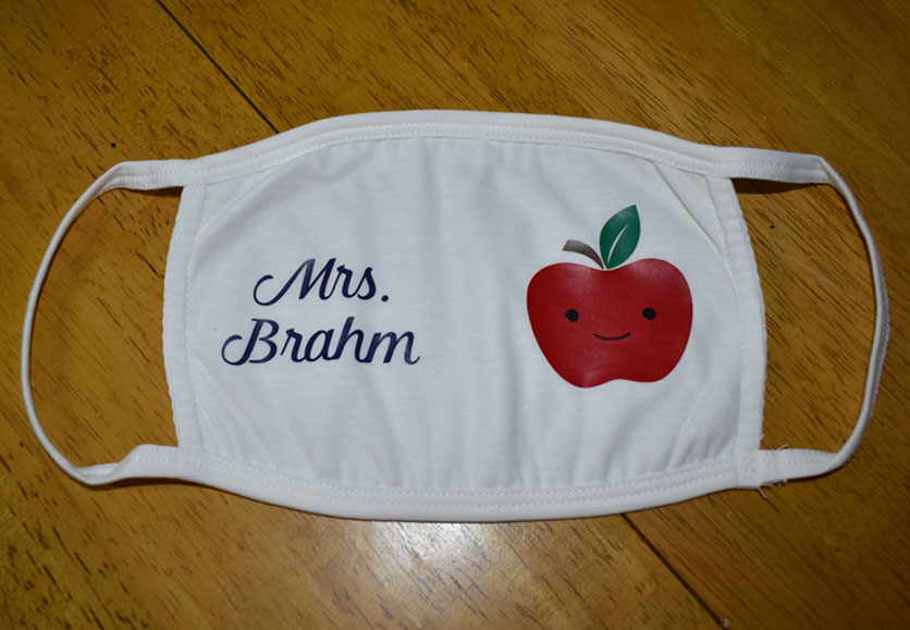 Mrs. Brahm - Happy Apple Mask
