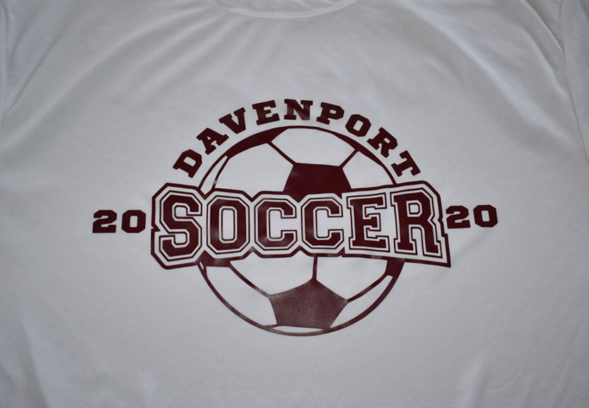 davenport soccer club shirt