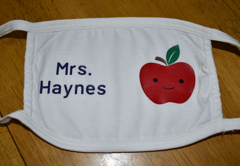 Mrs. Haynes - Happy Apple Mask