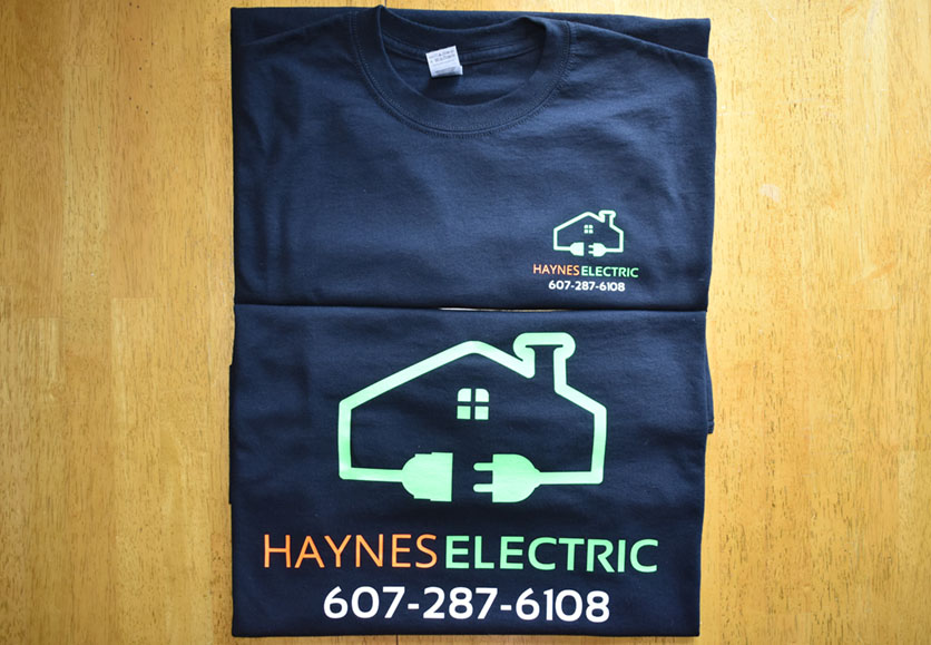 haynes electric t-shirts