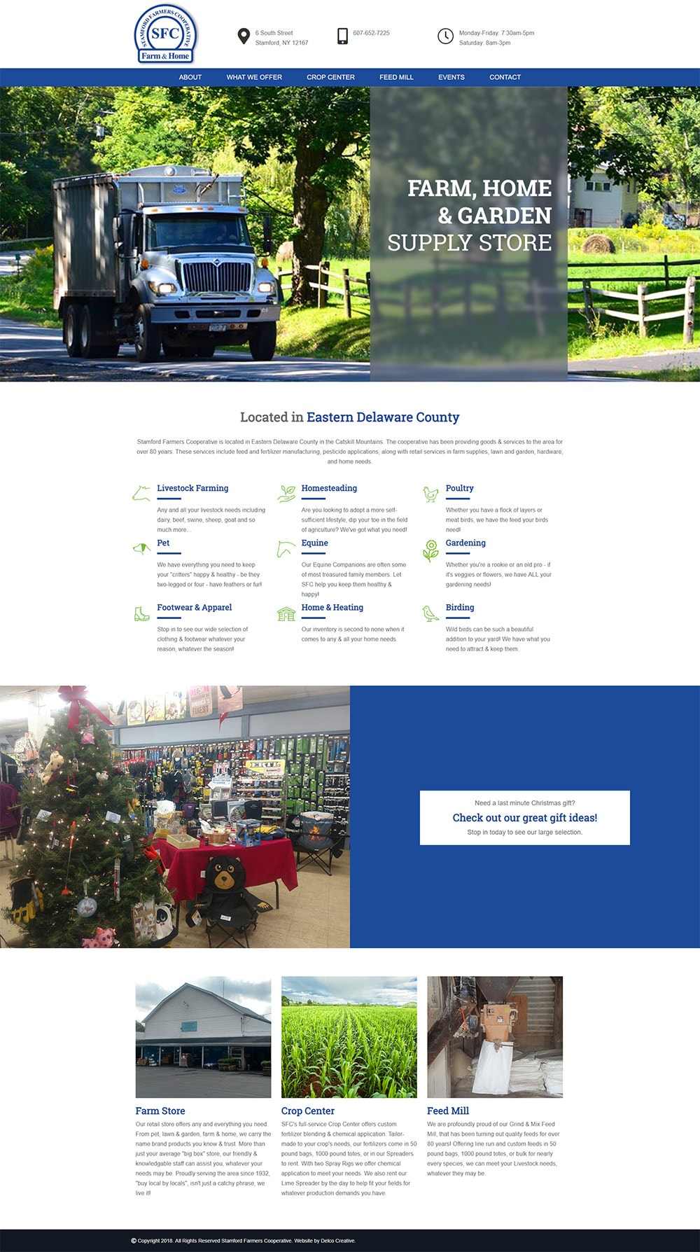 Stamford Farmers Cooperative Website